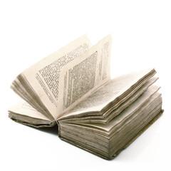 antico libro aperto
