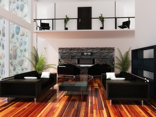 Interior drawing room