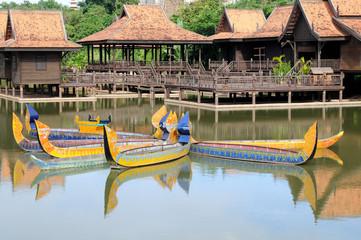 Cambodia boat