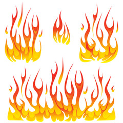 Vector fire design elements