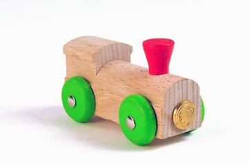 Lokomotive - Holzspielzeug