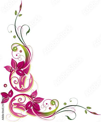 blumen bl ten ranke flora filigran gr n pink stockfotos und lizenzfreie vektoren auf. Black Bedroom Furniture Sets. Home Design Ideas