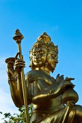 Statue of Brahma.