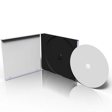 cd open box