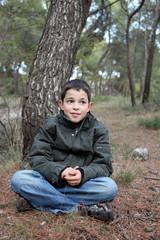 Promenade dans les bois - Jeune garçon - 9 ans #2