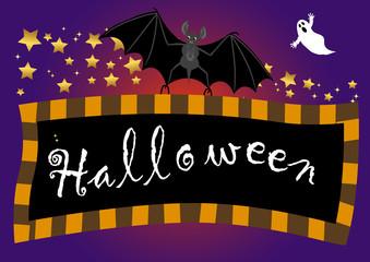 halloween banner. vector.