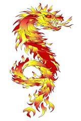 Feuerdrachen Feuerspucker