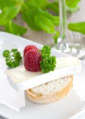 Appetizer mit Käse