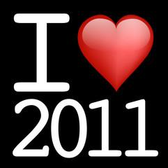 I Love 2011_Noir