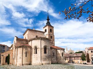 an ancient church in Segovia,
