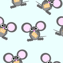 cartoon mouse repetitions