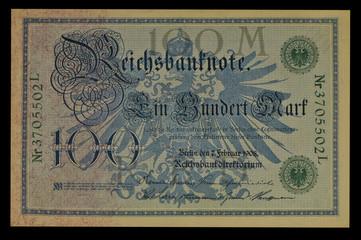 100 Reichsmark 1908