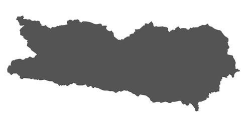 Karte von Kärnten