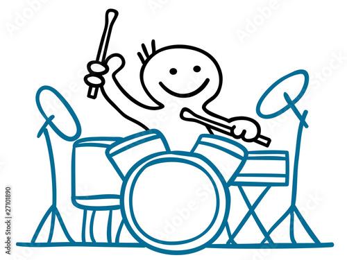 Figur Am Schlagzeug Stockfotos Und Lizenzfreie Vektoren Auf Fotolia