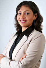 Portrait of Young Indian  Business Woman