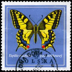 POLAND - CIRCA 1967 Swallowtail