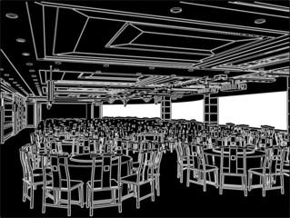 Modern Restaurant Vector 01