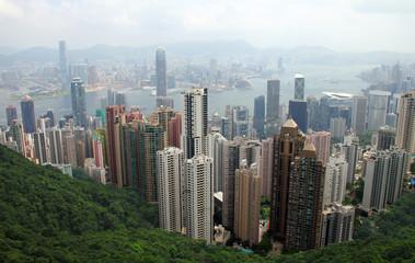 Hongkong - Blick von Victoria Peak