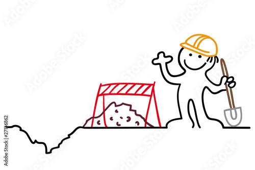 Figur Bauarbeiter Stockfotos Und Lizenzfreie Vektoren Auf Fotolia