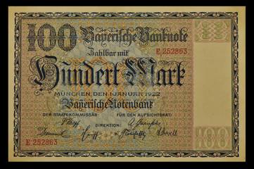 100 Mark 1922 Bayern