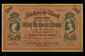 500 Mark 1911 Sachsen