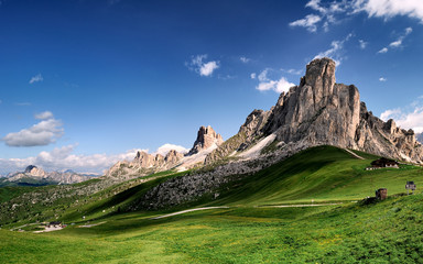 Alpi, Dolomiti, Passo Giau, Ra Gusela, La Gusella