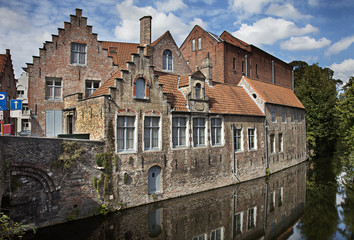 Wall Mural - Bruges canal, Belgium