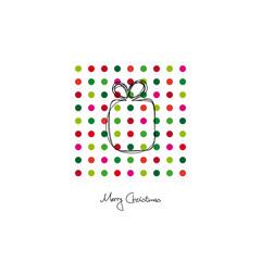 "Xmas Card ""Merry Christmas"" Gift"