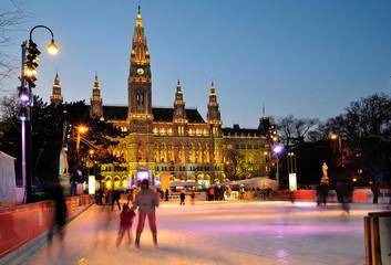 Eislaufen in Wien 2