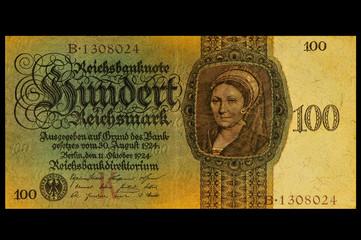 100 Reichsmark 1924
