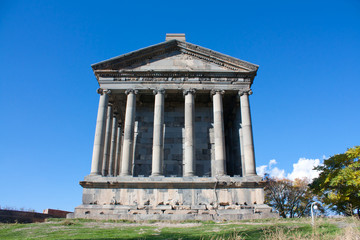 Old Armenian temple Garni