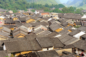 place of historic interest in china guangxi huangyao