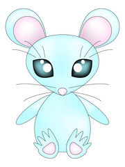 Blue mouse