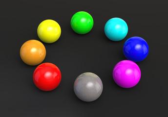 Farbkugeln