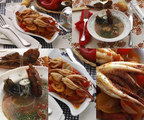 Moscardini con i peperoni e Zuppa di lago - 27173026