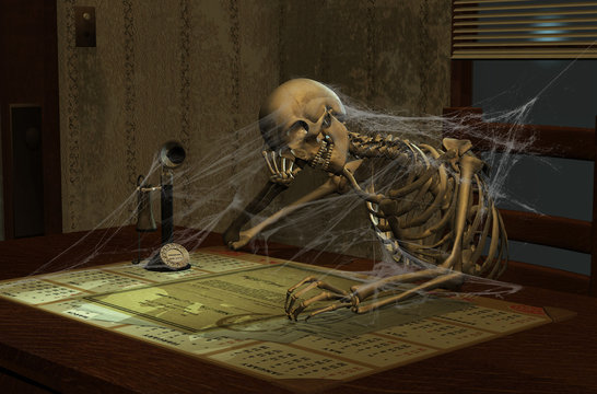 Bored to Death - 3D render