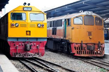 Diesel electeic locomotive