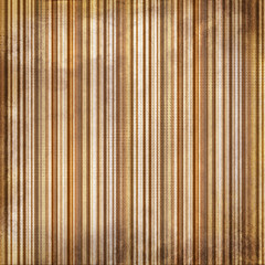 Vintagebrown  and yellow shabby colored striped background