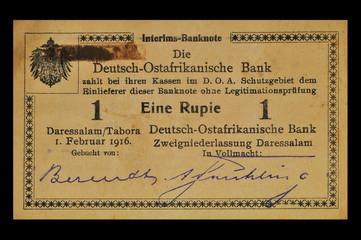1 Rupie Deutsch - Ostafrika