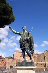 Cäsar in Forum Romanum in Rom