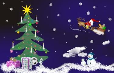 Christmas theme,