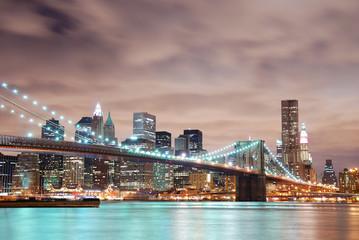 Fototapete - New York City Manhattan skyline