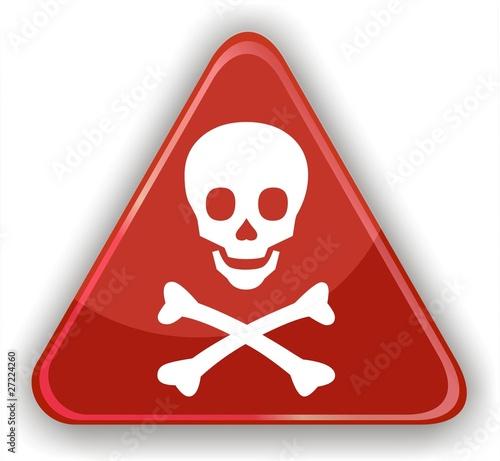 Pancarte t te de mort fichier vectoriel libre de droits - Symbole tete de mort ...