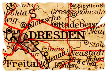 Dresden old map