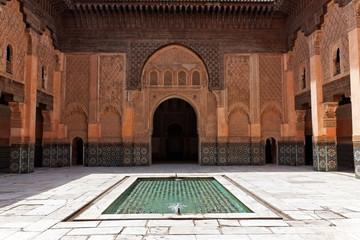Ben Youssef Madrasa, Marrakech, Morocco.