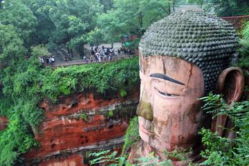 Giant Buddha in Leshan / China