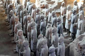 Tuinposter Xian Terracotta Warriors in Xian / China