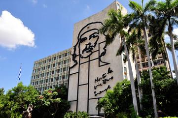 Plaza de la revolucion in Cuba