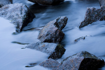 Fluss Nebel