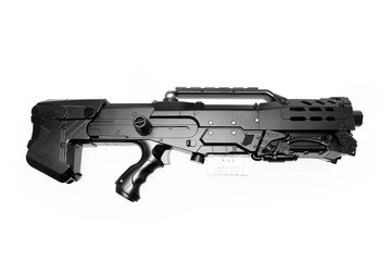 Science fiction ray gun